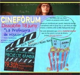 2016 cine forum
